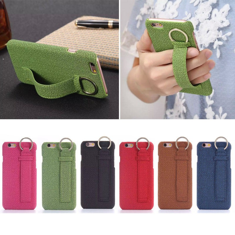 China prodcuct cellphone case for iphone 6s with hanging ring , for iphone 6S handphone accessory cover