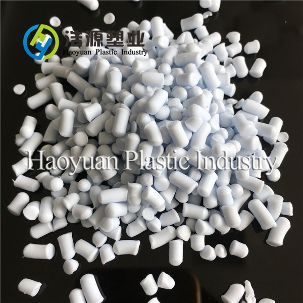 oil resistance soft PVC granules for white boots PVC