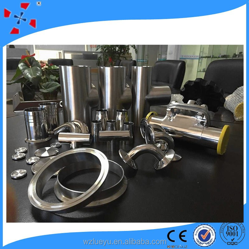 Dairy pipe clamp joint fitting hydraulic buy