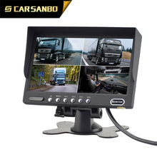 High resolution 7 inch car tv monitor with usb with competitive price