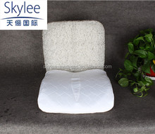 Top Quality latest washable soft white dual purpose mat(cushion/lumbar)