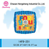 Factory outlet inflatable square OEM balloon helium balloon
