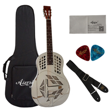 No.1 Brand Chinese Guitar cheap prices Aiersi tricone Resonator Guitars