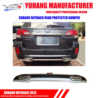 outback 2013 rear protected bumper