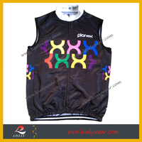 Lively--2014 custom quality Running Gilet,bicycle racing vest, Mountain Bike cycling vest