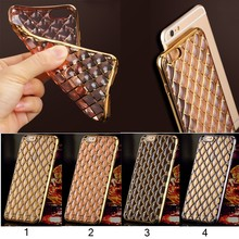 New Coming Drop resistance soft TPU Grid case for iPhone 6/6S, For iPhone 6/6S TPU Case