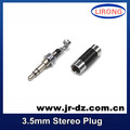 Hi-End Carbon Fiber Gold Plated 3.5MM Stereo Plug 3.5 mm Audio jack