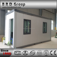 20FT/40FT Expandable Cabin Flat Pack Container House Prefabricated Home for sale