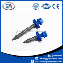 Hot selling Painted colored Metal Siding Roofing Screws