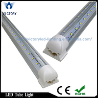 Wide beam angle v shaped t8 led lamp for refrigerator