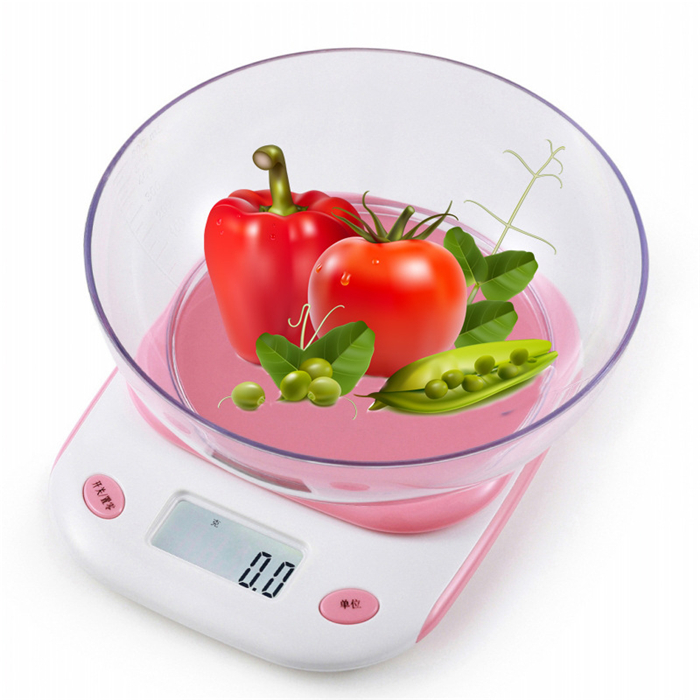 Chinese and English Japanese luggage included bowl digital food kitchen <strong>scale</strong> 0.1g