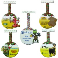 PVC shelf wobbler display shelf talker