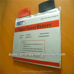 lifepo4 battery 3 volt long lifespan 100ah lithium polymer battery