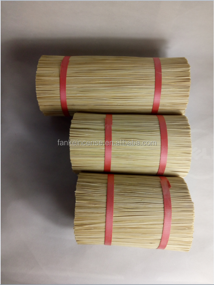 Bamboo stick for making incense stick