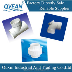 made in china extensive used hard upvc pipe fittings,names of pvc pipe fittings,pvc resin material pipe fitting