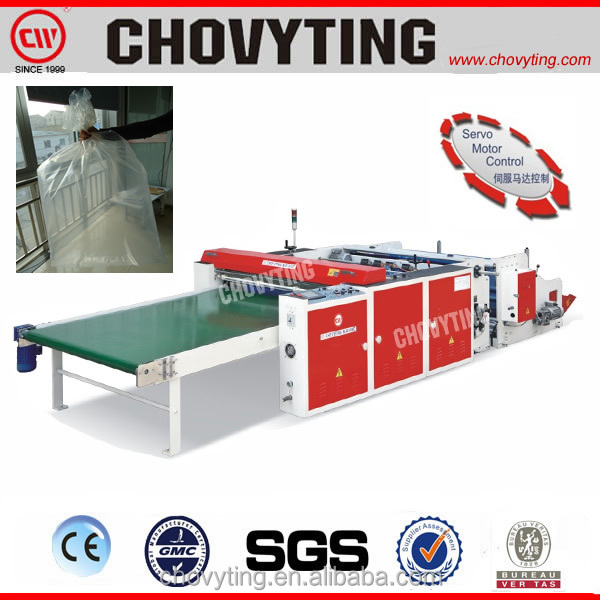 Fully Automatic Bottom Sealing Flying Knife Cutting Bag Making Machine