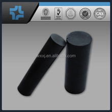 black Teflon carbon rod / PTFE bar