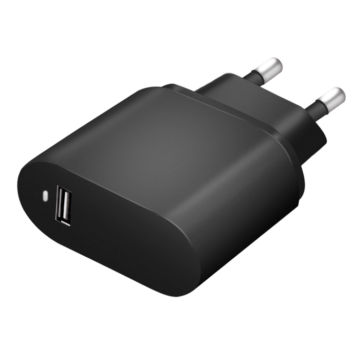 Mobile phone accessories QC3.0 EU wall charger USB travel charger Black white color home mobile charger