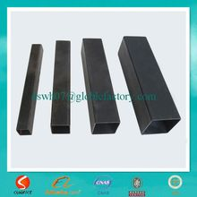 hot sale thin wall square black welded metal tubes made in alibaba china