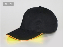 new item wholesale cheap led light cap and hat with custom embroidery logo