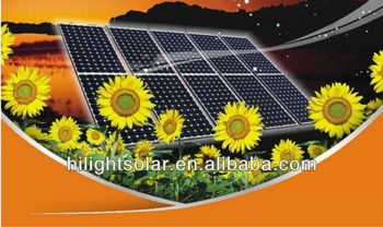 295 watt high power solar panle