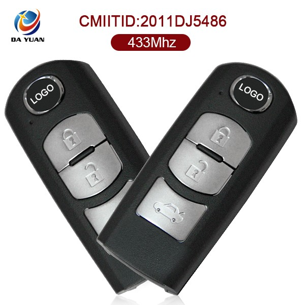 Sell Online car key fobs For Mazda 3 button 433mhz AK026016