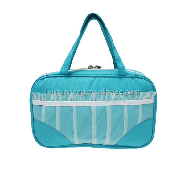 Guangzhou travel underwear bra case storage bag from Chinese mufacturer