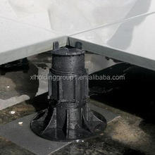 cheap plastic raised floor pedestal for granite floor