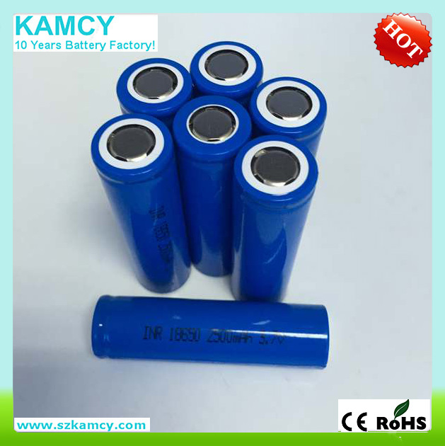 alibaba kamcy 18650 battery 1600mah 3.7v li-ion cylindrical battery dynamical type in very hot selling with low price