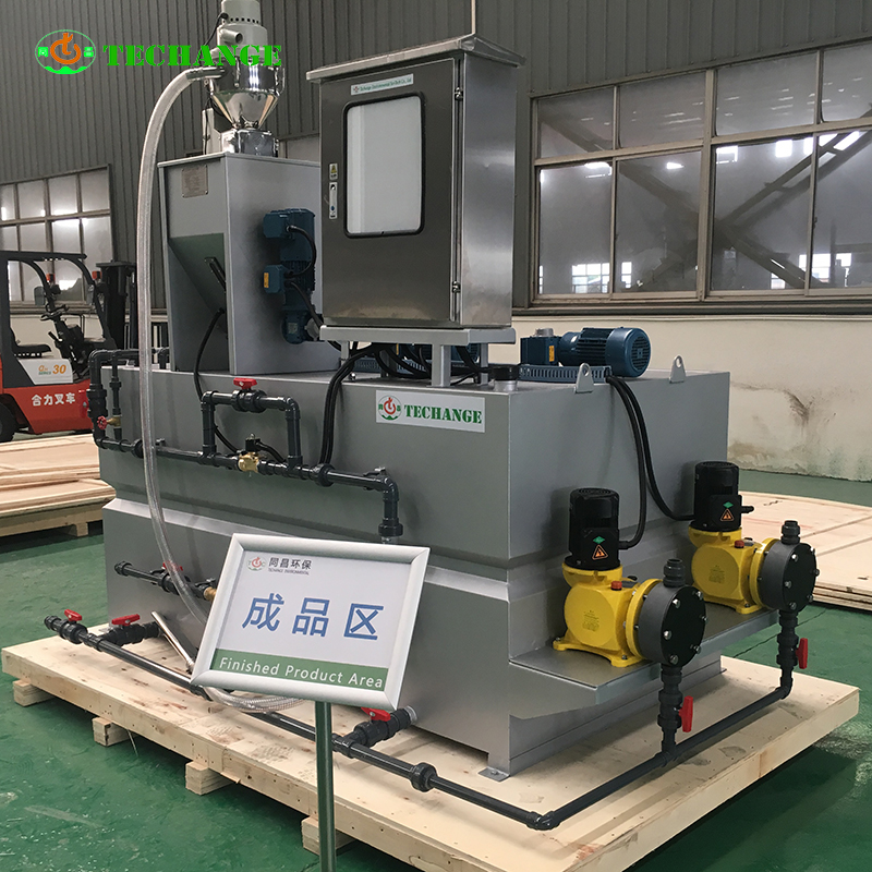 boiler chemical Flocculant dosing system automatic dosing device