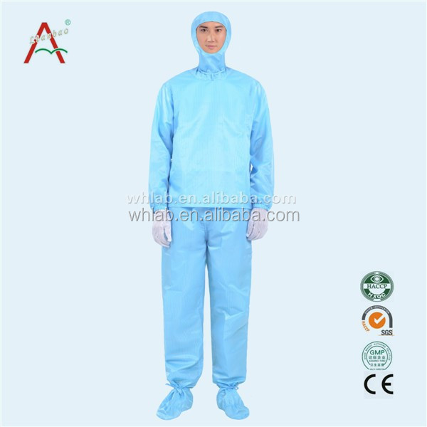 Two Sets Hooded Antistatic Safety Workwear Coverall