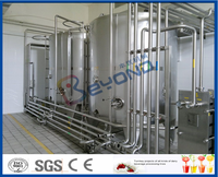 Turnkey complete milk processing line