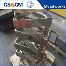 Customized MIG/TIG & robot welding steel structure fabrication parts