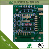 China fr4 pcb circuit board factory ISO9001 proved pcb manufacturing