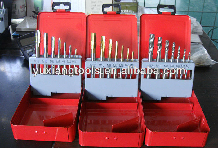 hss hss-e danyang threading tool tap and die set