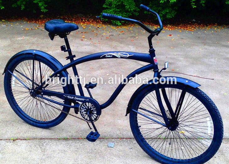 2017 Tianjin new model 26 inch beach cruiser bicycle for men's with high quality