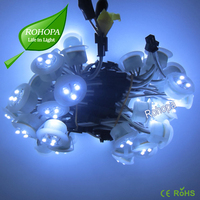 12v round 3leds 0.24w waterproof strawhat led module for LED signboard