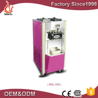 Top quality cold stone and soft ice cream cone machine for cheap price