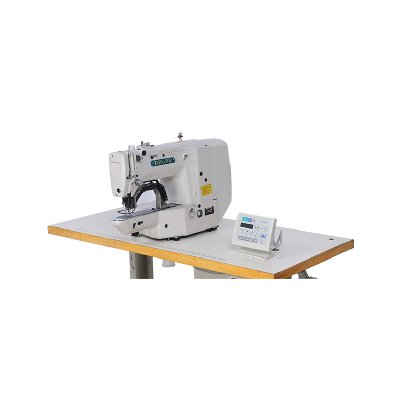 direct driving electronic bartacking industrial sewing machine