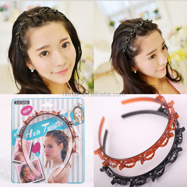 Wholesale New products recommended multi-layer empty blanket bracelet hair band hoop fashionable
