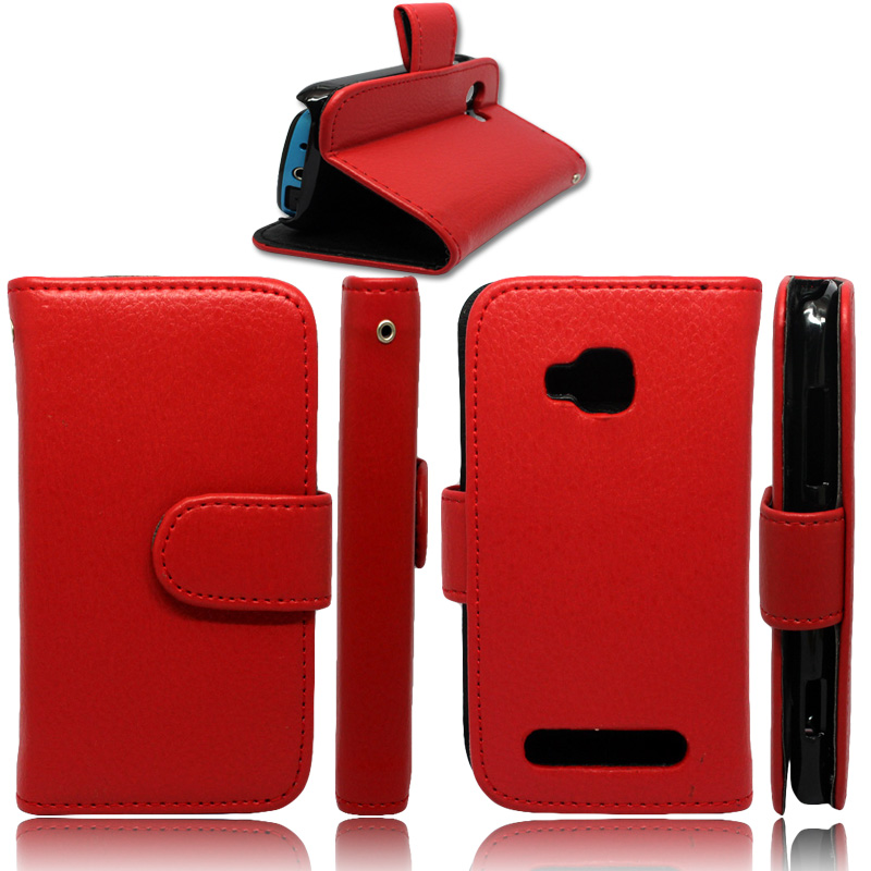 Singstar Stand Flip Leather Case Cover for Nokia Lumia 710