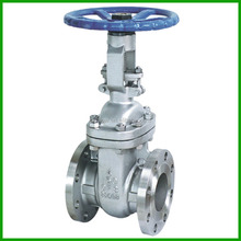 outside screw stem rising stainless steel CF8 gate valve class 150