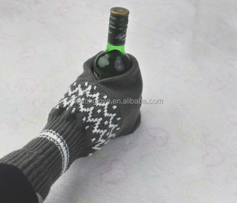 Customized beer gloves mittens