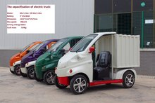 China factory supply cheap mini electric pick up truck with CE approved