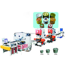 Two pieces automatic packing assembly line