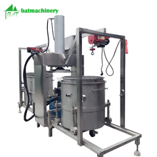 Chinese herb medicine squeezing pickled vegetables juice press machine