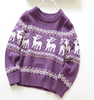 China Product New Design boys christmas Deer Pattern Baby Sweaters