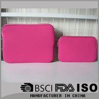 Neoprene Material wholesale fashion cheap neoprene laptop computer bag