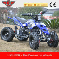 2013 Realible 49CC Mini ATV quad bikes for Kids with CE(electric optional)