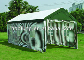 3X6m PE&POLYESTER Steel tube carport